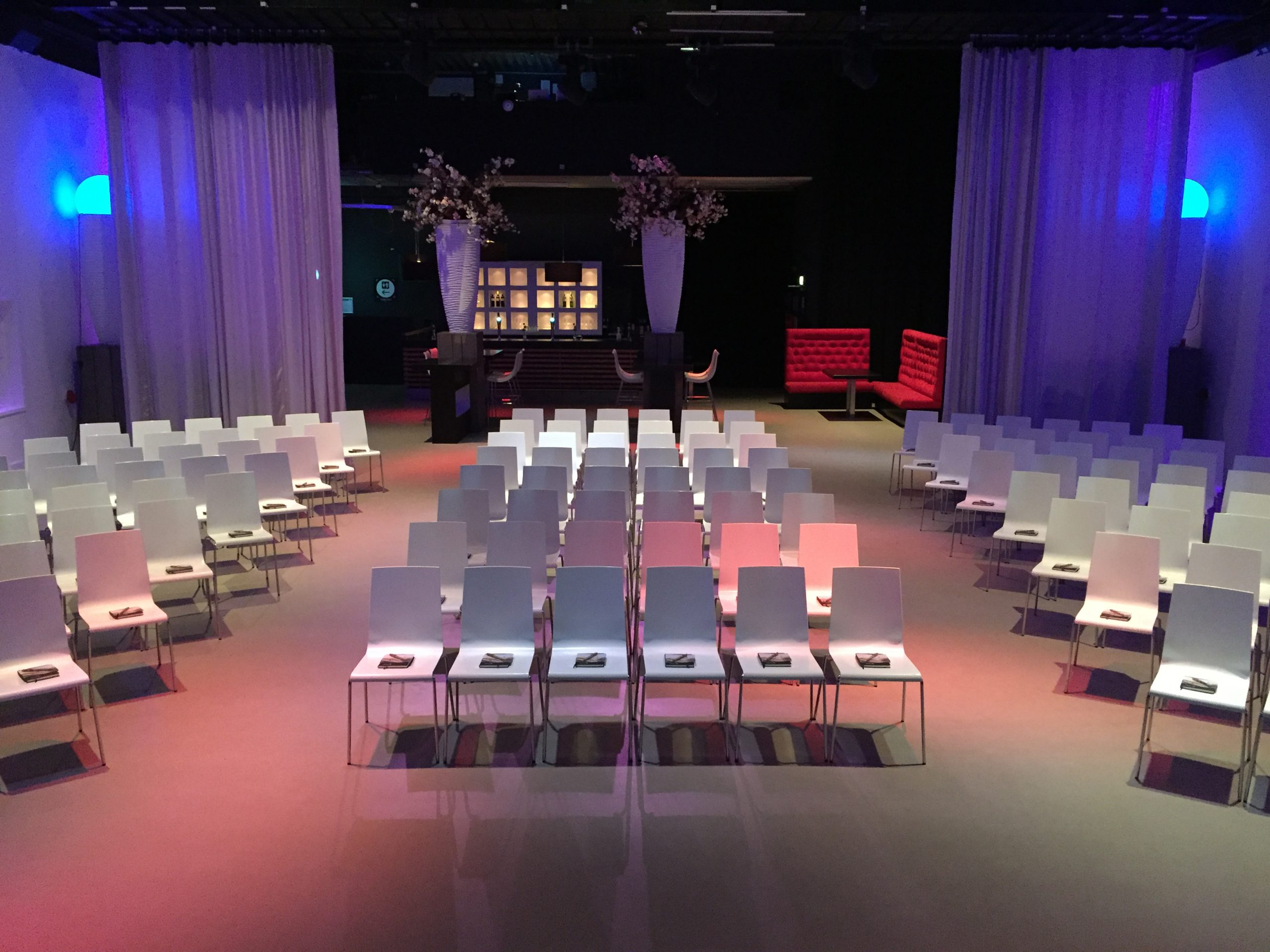 Hal4 aan de Maas theateropstelling